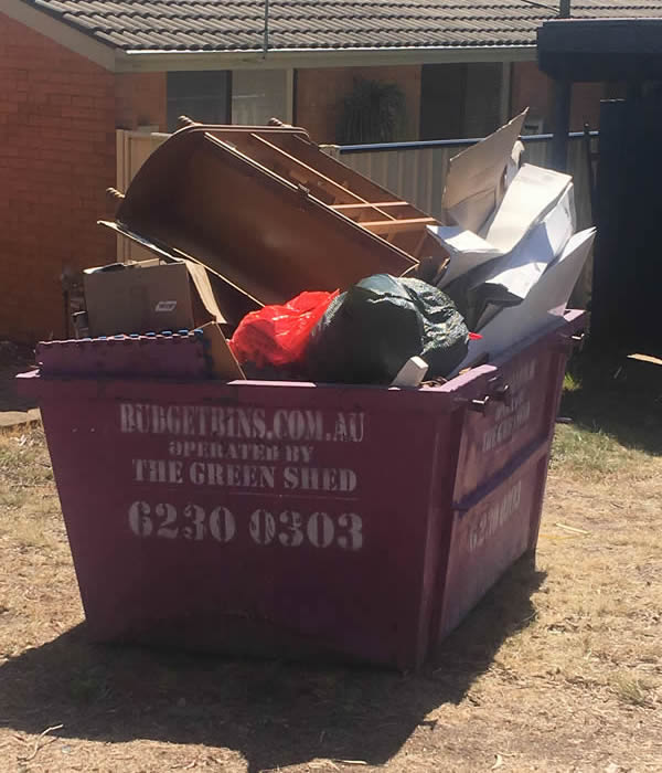 How NOT to pack a bin